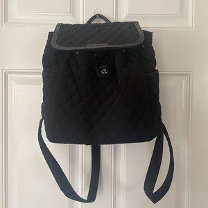 Vera Bradley Black Mini Backpack